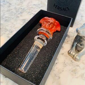 Versace Crystal Wine Stopper
